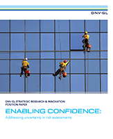 Enabling confidence addressing uncertainty in risk assessments cover