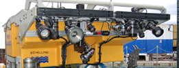 Unmanned underwater vehicles ROVs AUVs